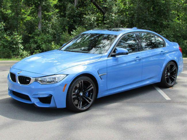 2016 BMW M3 (Blue)