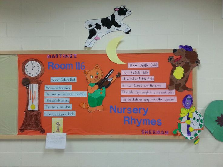 Kindergarten Nursery Rhymes Bulletin Board 75 Best Images By Kristin Knight On Pinterest