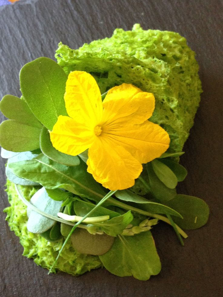 Sponge cakes with herbs... Καλάθι 'σφουγγάρι' με μυρωδικά...