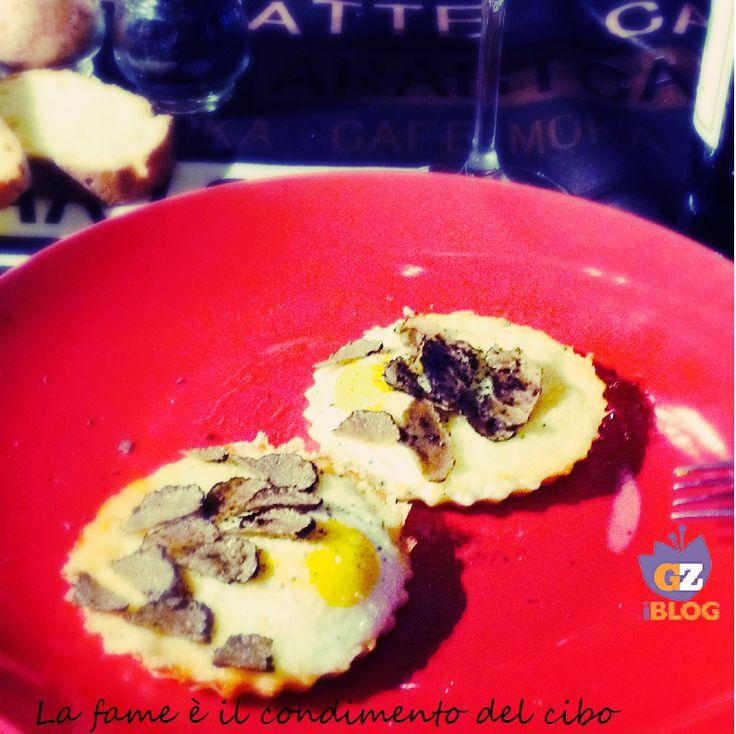 Uova al Tartufo Nero #BlogGZ #Ricetta #food #Tartufo