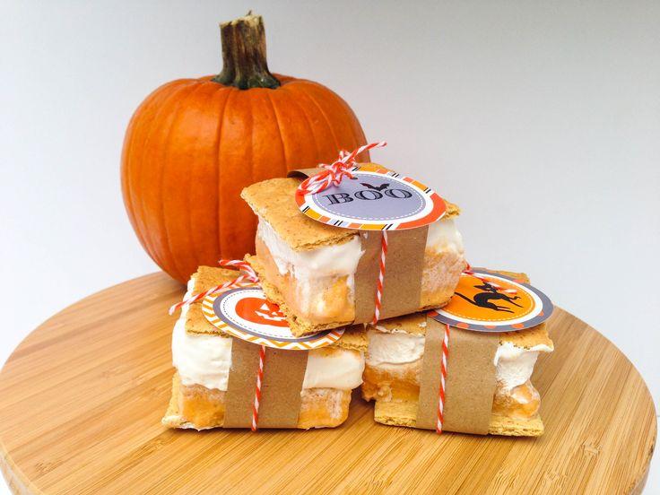 ruff draft pumpkin pie ice cream sandwiches