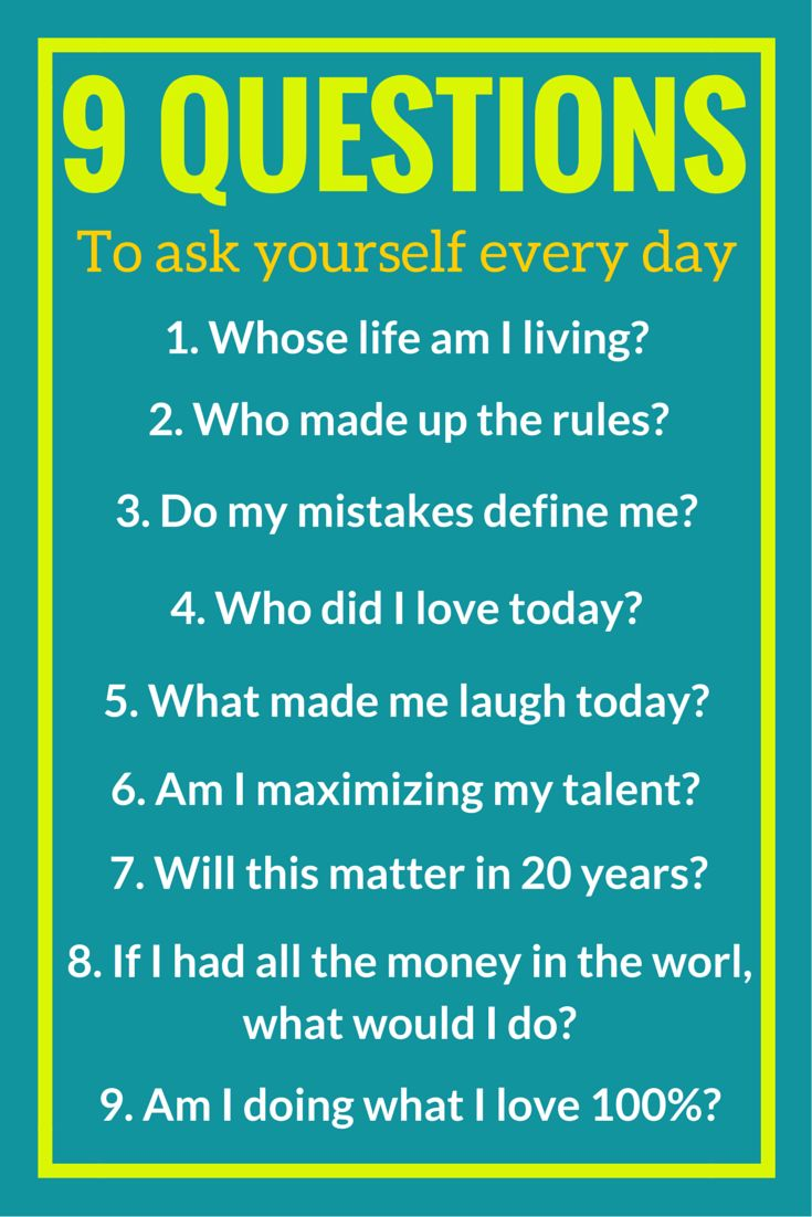 Great Personal Development Quotes: 9 Questions To Ask Yourself Every Day
