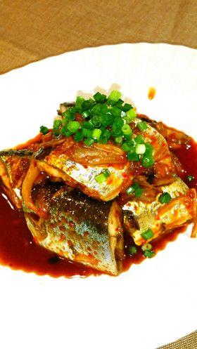 さんま⭐キムチ入り煮付け⭐美味しい煮魚⭐ by yhime2001 [クックパッド] 簡単おいしいみんなのレシピが264万品