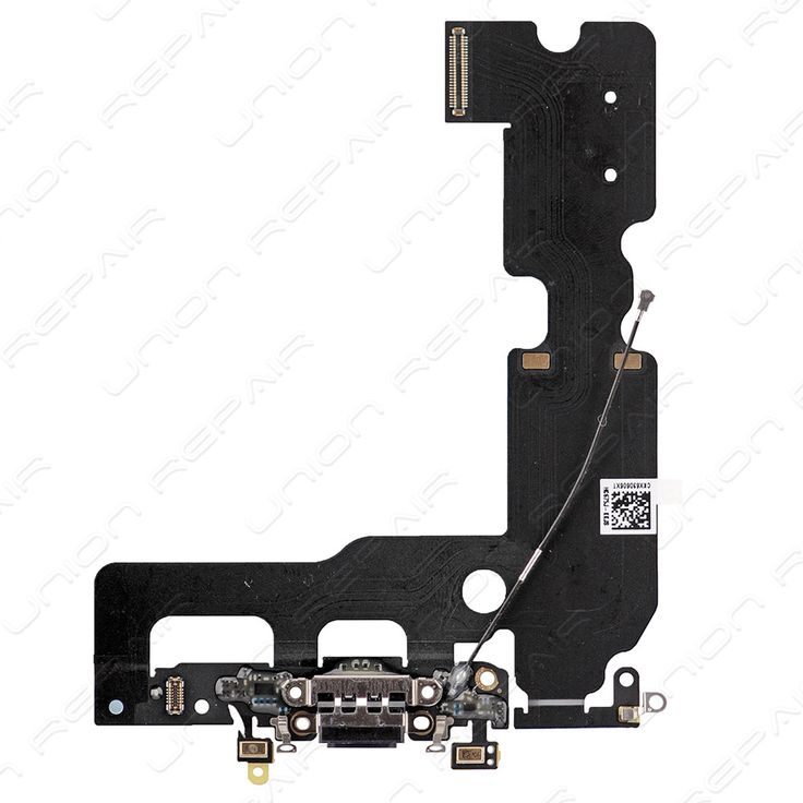 Replacement for iPhone 7 Plus Charging Connector Assembly - Black    Features:      This iPhone 7 Plus USB Port Flex replacement is Black, which is matching to Jet Black & Black iPhone 7....