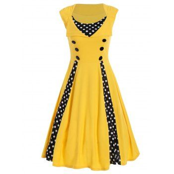 SHARE & Get it FREE | Polka Dot Sleeveless A Line DressFor Fashion Lovers only:80,000+ Items·FREE SHIPPING Join Dresslily: Get YOUR $50 NOW!