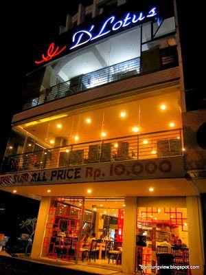 D'lotus restaurant jl. abdul rivai   Dim sum-nya variatif dan terjangkau sekale