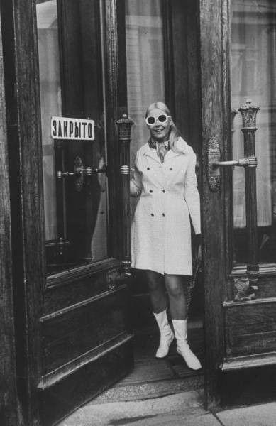 60s mod fashion, Russia