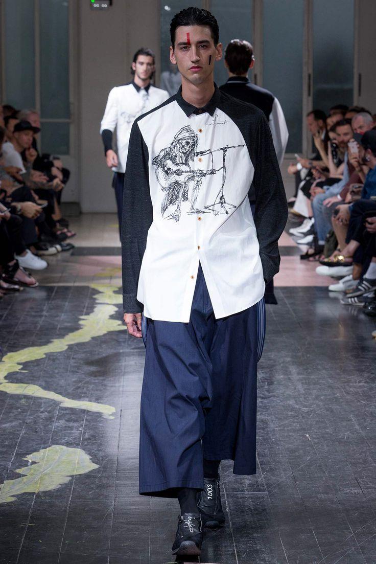 Yohji Yamamoto 16ss men's