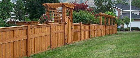 Privacy Fence Ideas I Like This Without The Board