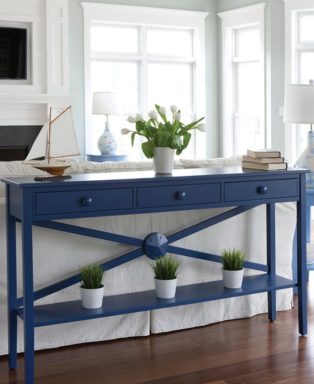 Solid Wood Media Centers, Storage and Consoles   Cottage and Coastal Living Style