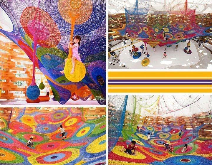Parque de niños en Japón