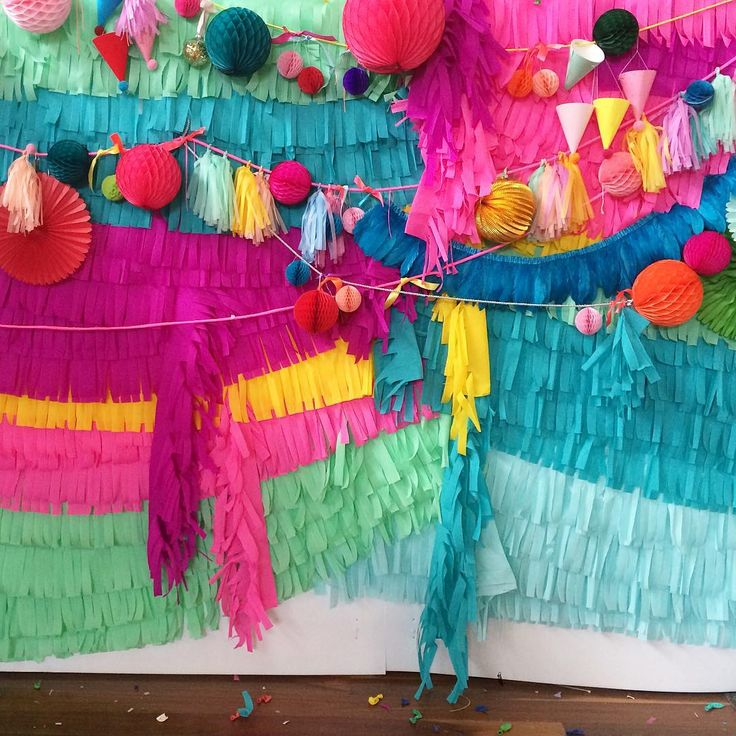 colorful party inspiration