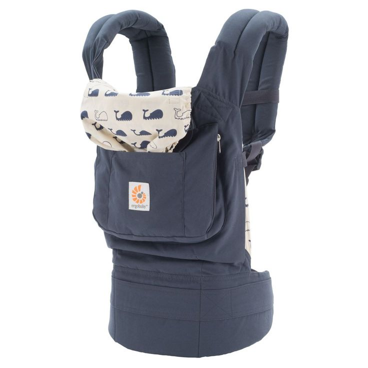 Ergobaby Original Baby Carrier - Marine, $120.00 I love the little whales