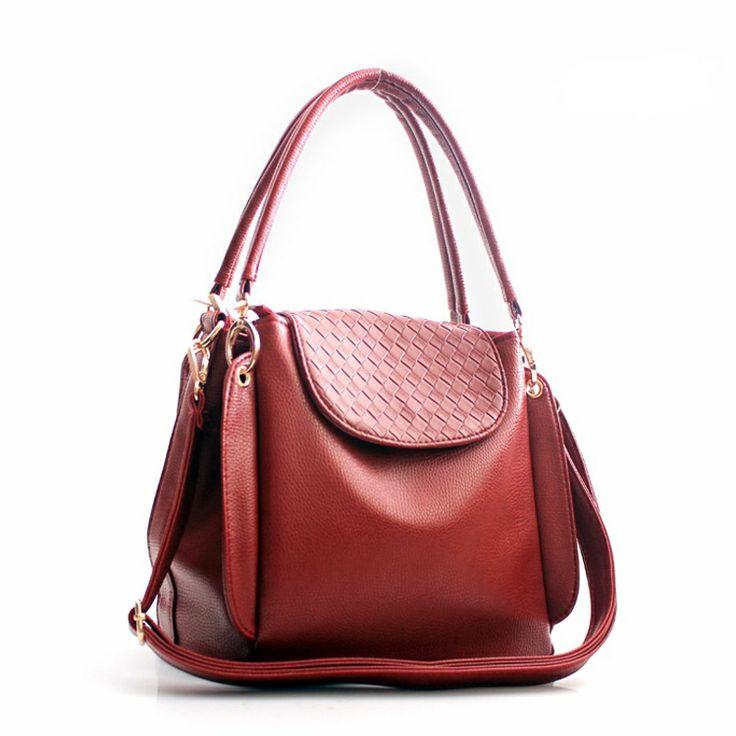 multilayer handwoven handbag casual women bag