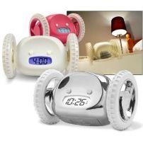 Uciekający budzik Clocky - złap go jeśli potrafisz!  #budzik #zegar #sypialnia #design