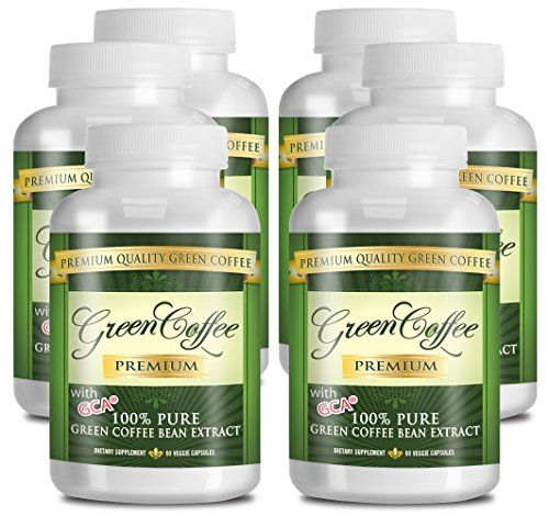 Green Coffee Bean Extract 100% PURE - 50% Chlorogenic Acid - 360 Capsules - Quick Fat Burner *** You can get more details by clicking on the image.