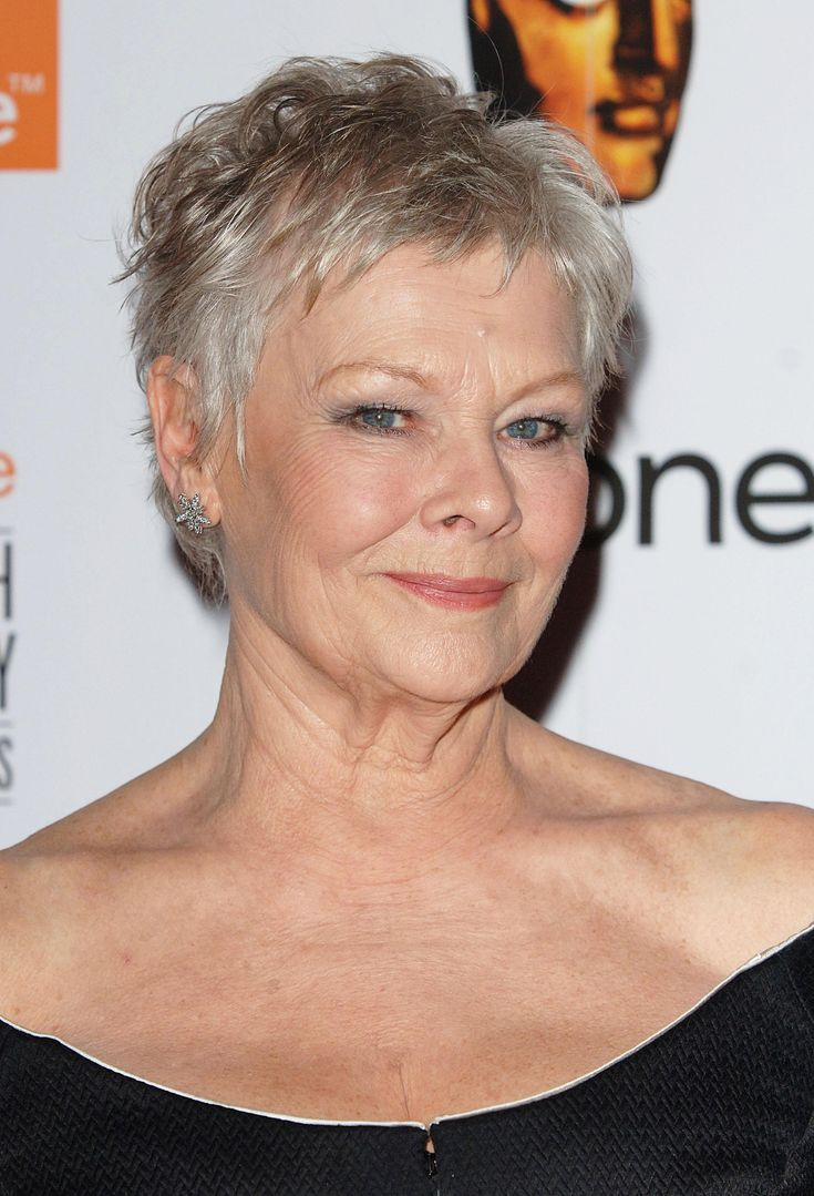 Dame Judi Dench. A very versatile actress on stage ,screen, and TV. I ...