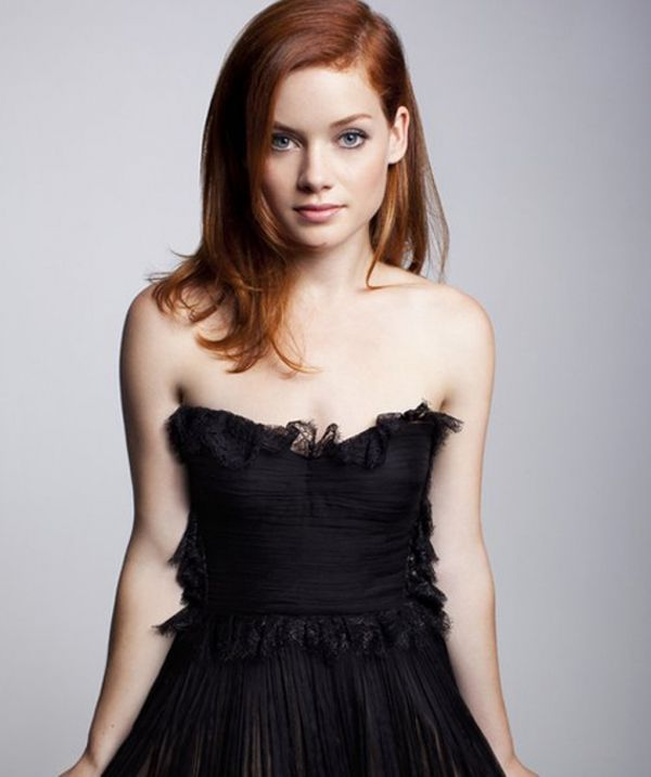 Jane Levy (Tessa from Suburgatory)  The reason I'm proud to be a redhead is because of Tessa lol X)
