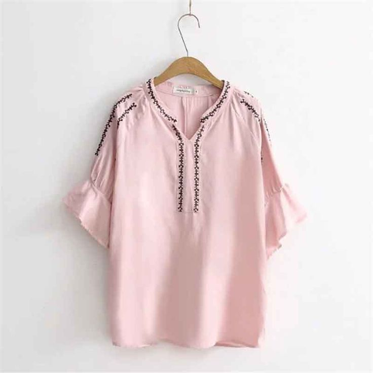 >> Click to Buy << Summer Maxi Shirts Women Clothing Plus Size T-shirt Embroidery Butterfly Sleeve Cotton T Shirt Casual Tops Tees Female Tunic #Affiliate