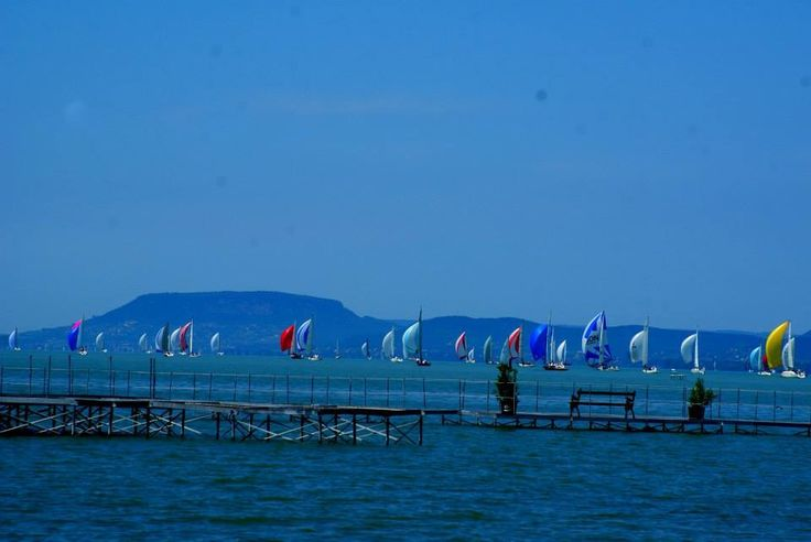 Kèkszalag - Europe's longest round the lake sailing competition at Lake Balaton