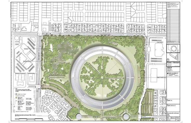 More about Foster + Partner's new Apple Campus in Cupertino | ArchDaily