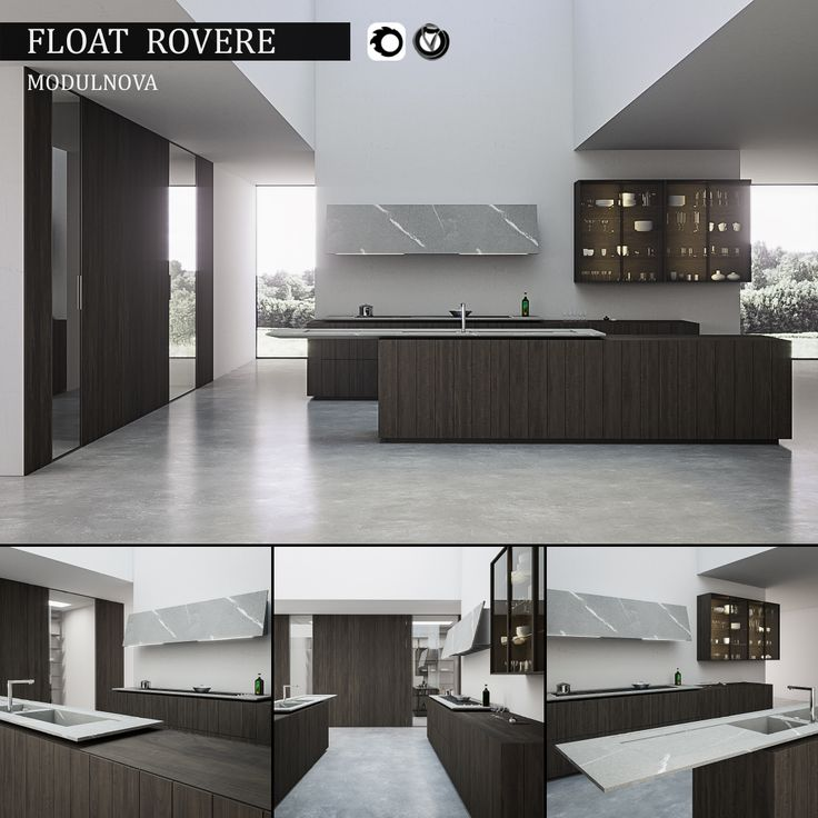 Kitchen Float Rovere | 3D Model