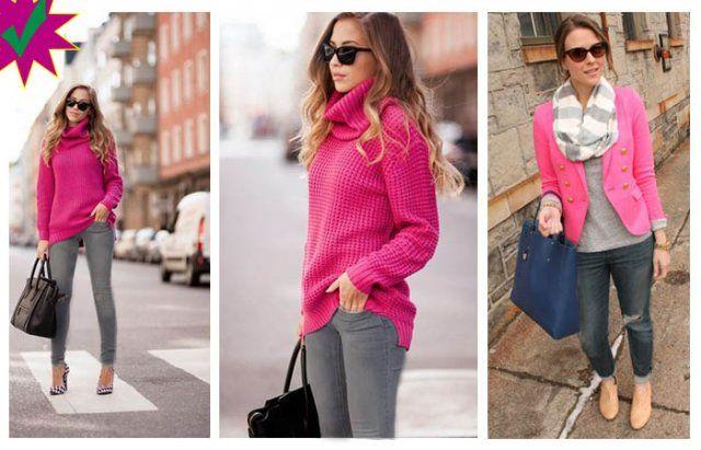 Como Combinar Un Pantalon Gris Con Rosa Mujer Outfits Gris Y Rosa Como Combinar Pantalon Gris Pantalon Gris Mujer Outfit Con Pantalon Gris
