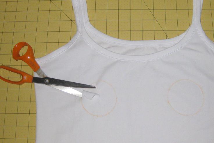 The no sew nursing top solution