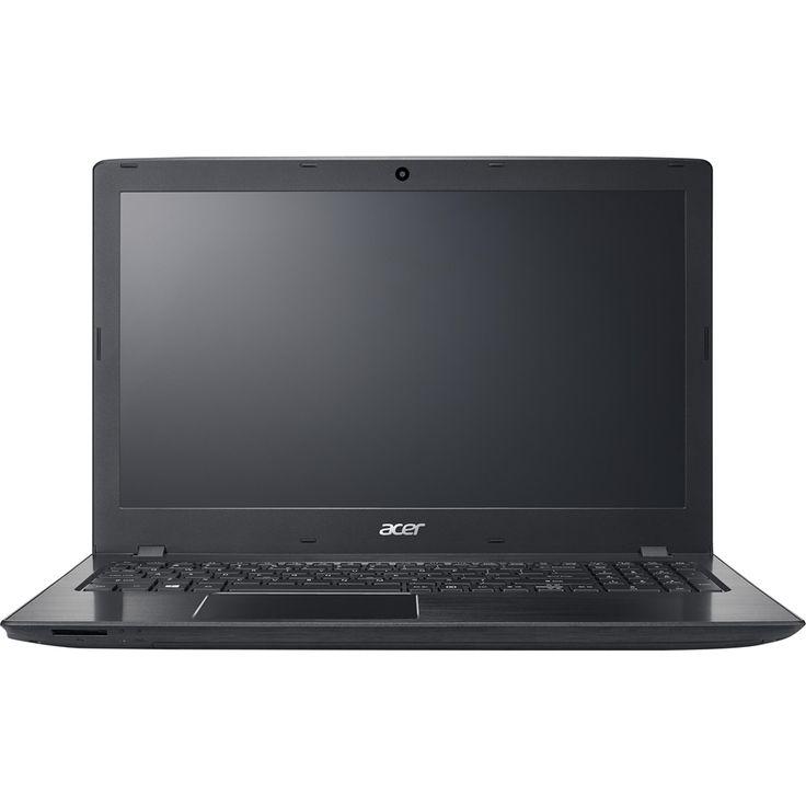 "Acer - Aspire E 15 15.6"" Refurbished Laptop - Intel Core i5 - 8GB Memory - Nvidia GeForce GTX 940MX - 1TB Hard Drive - Obsidian black"