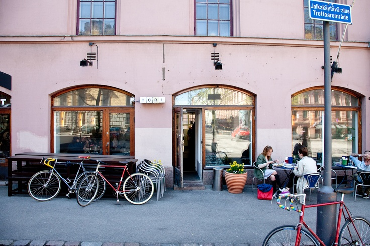 Bikes and Cafes