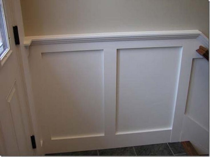 Simple Wainscoting Ideas Easy Wainscot Trim Basement