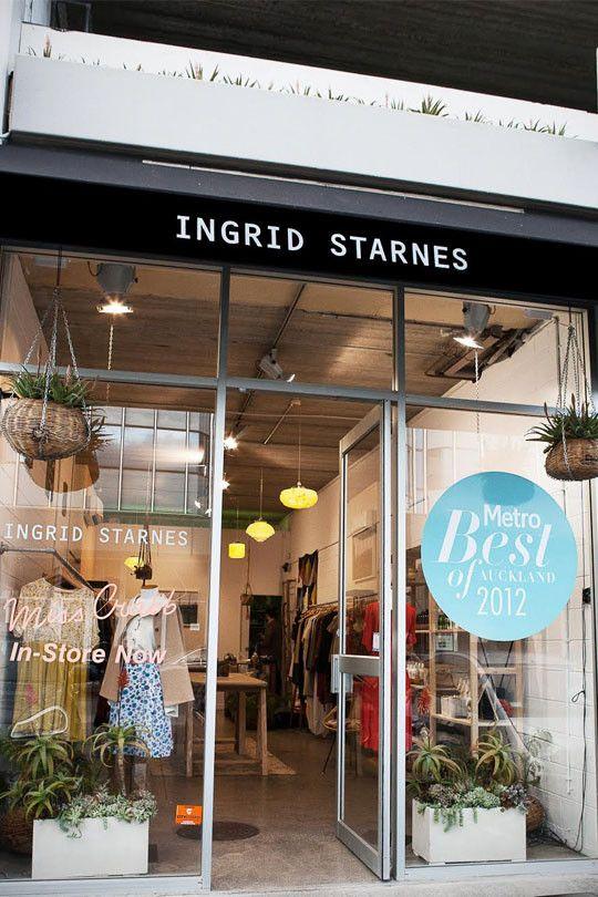 Ingrid Starnes Newmarket storefront.