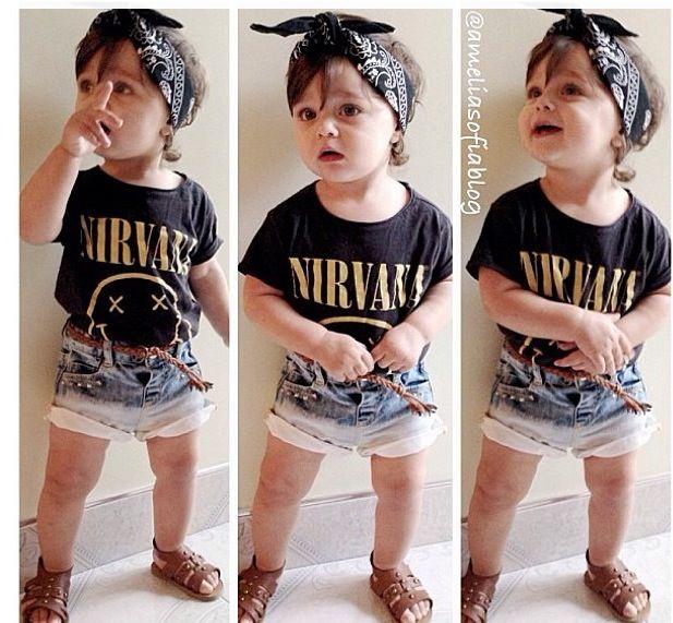 Cute Little Rocker Out Fit Future Babies