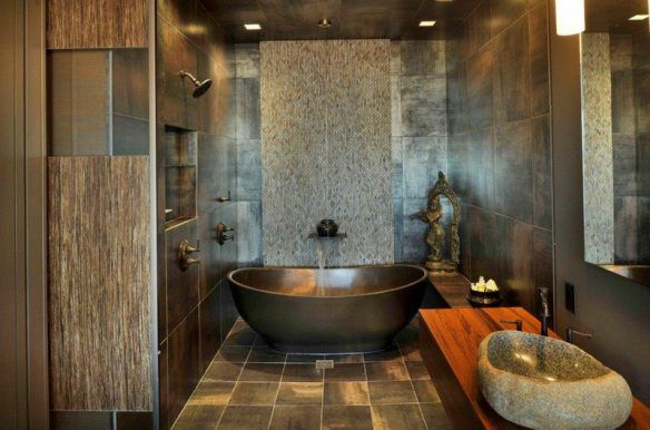 decoration-zen-bathroom-tile-mosaic-dark-stone-basin