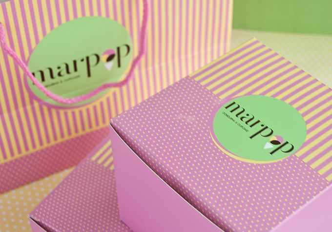 #packaging #design #marpop #cupcake #box #handbag #karbonltd