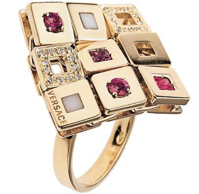 #Versace #rings