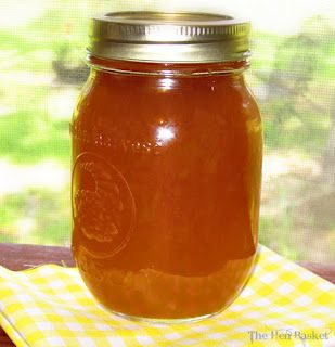 Homestead Survival: Caramel Apple Jelly - water bath canning recipe