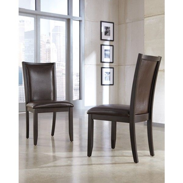 Trishelle Dining Uph Side Chair - Brown - (Set of 2) - D550-02 by Ashley Furniture Signature Design