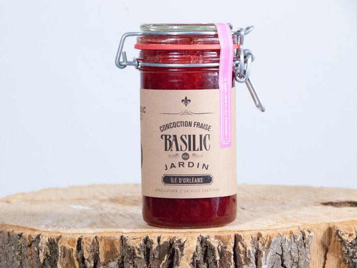 Concoction fraise et basilic