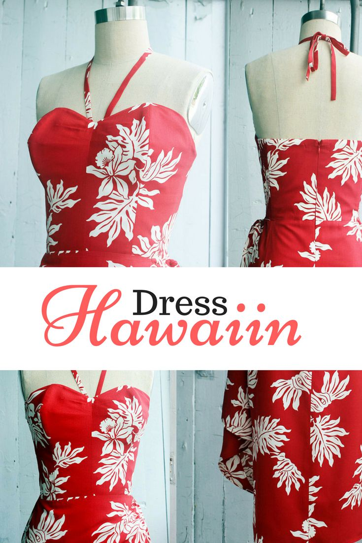 I want this dress for the summer. It would be perfect for vacation to those tropical islands! Sarong dress, Hawaiian dress, Pinup dress, Tiki dress, Rockabilly dress, Tiki Oasis dress, Wrap dress, Oceanfront dress #fashion #ad #dresses #floral #fashiondesigns #dressdesigns