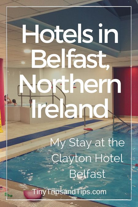 Looking for a nice 4* hotel to stay? Look no further than the Clayton Hotel Belfast for your next stay in the Northern Irish capital.