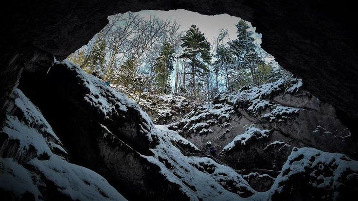Pestera Ghetarul de la Scarisoara. #gardadesus #glacier #cave #romania