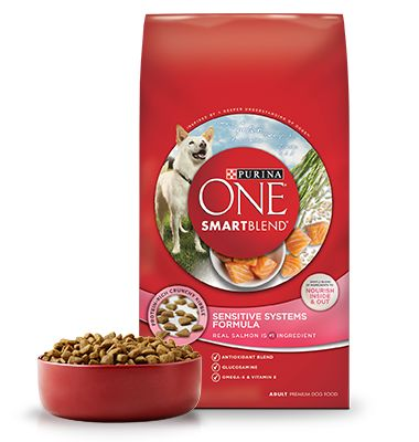 Sensitive Systems - Salmon Dog Food - Purina ONE® SMARTBLEND®