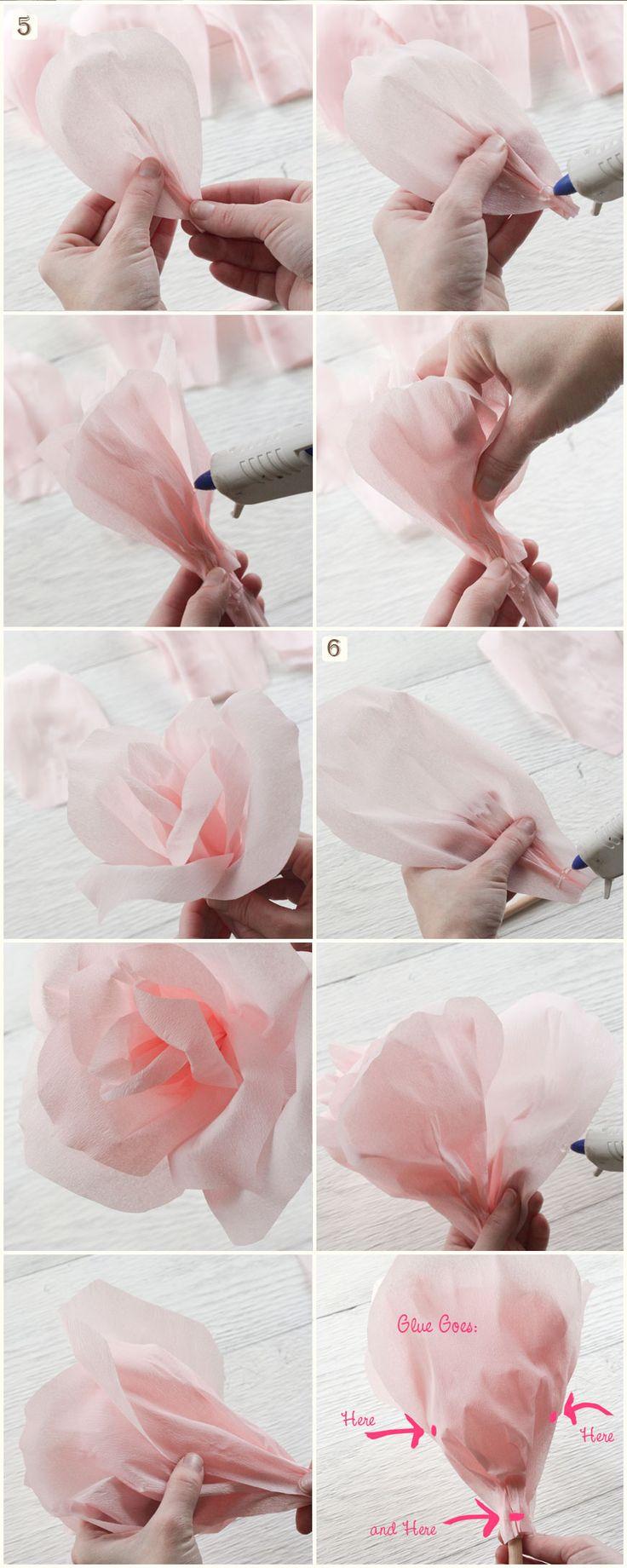 Tutorial: Make Giant Paper Flowers