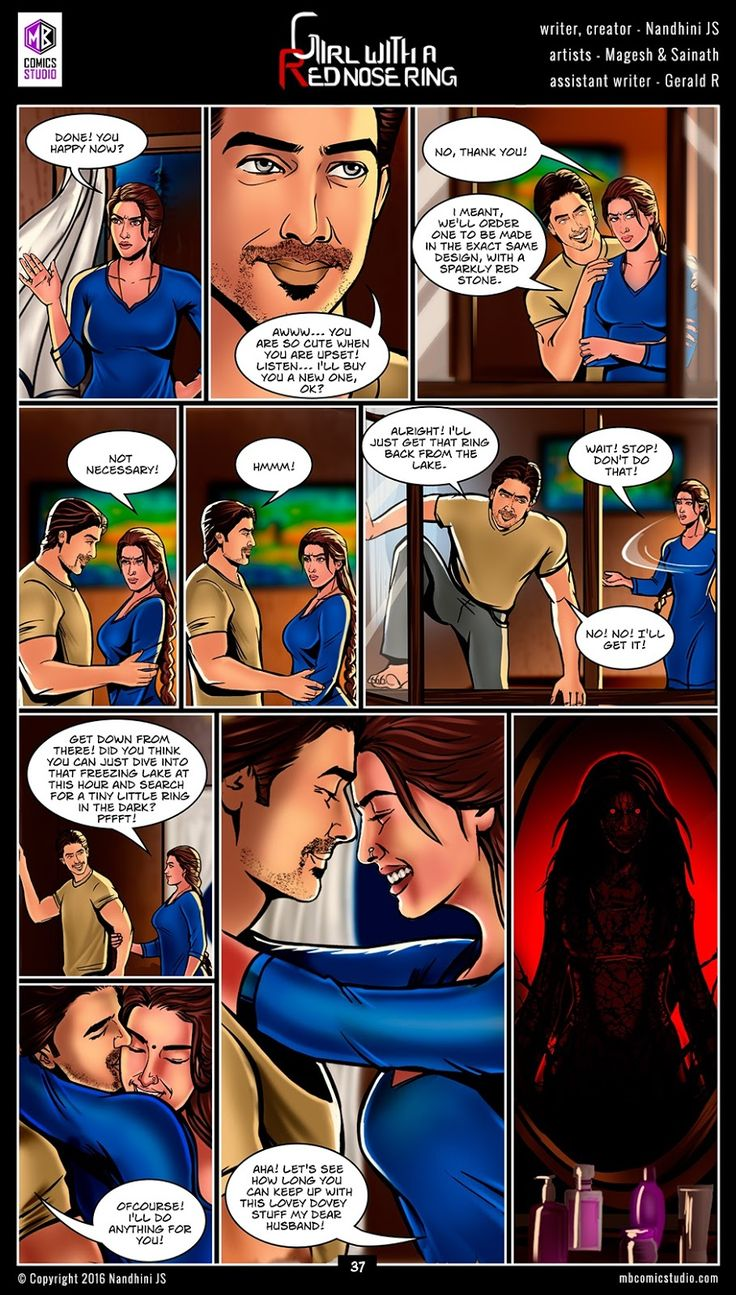 Page 37 - Nandhini's 'Girl with a Red Nose Ring' Comics. (read free comics online, romantic books by indian authors, romantic books for teenegers, horror books in english, best place to download comic books online, comic books for children, comics for children, comics for kids, comic books for kids, best site to download comics, comic books download pdf, graphic novels for adults, graphic novels for children, graphic novels and comics, indian comic books, comic books india, webcomics