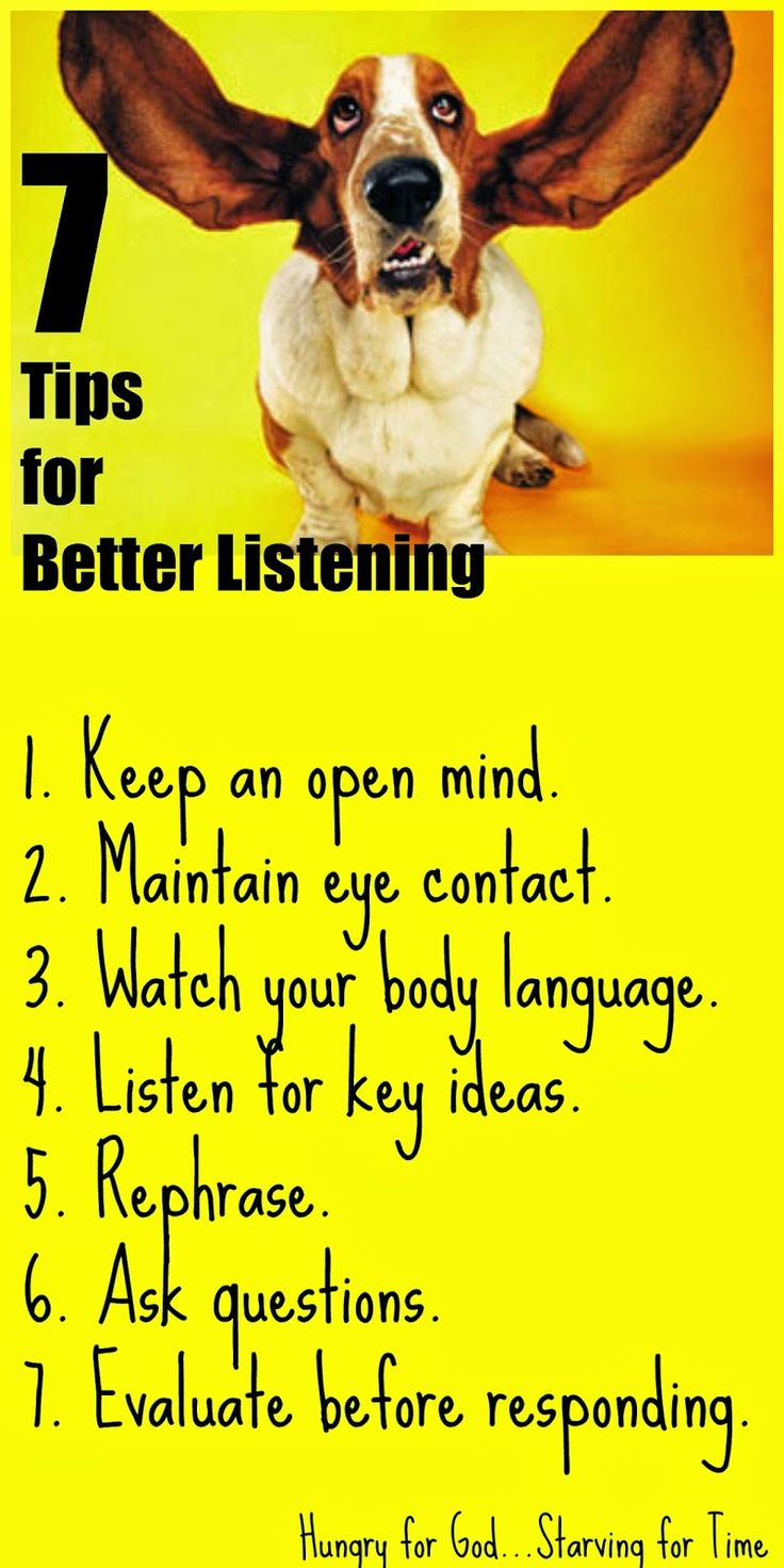 Want to become a better listener? These tips will help.