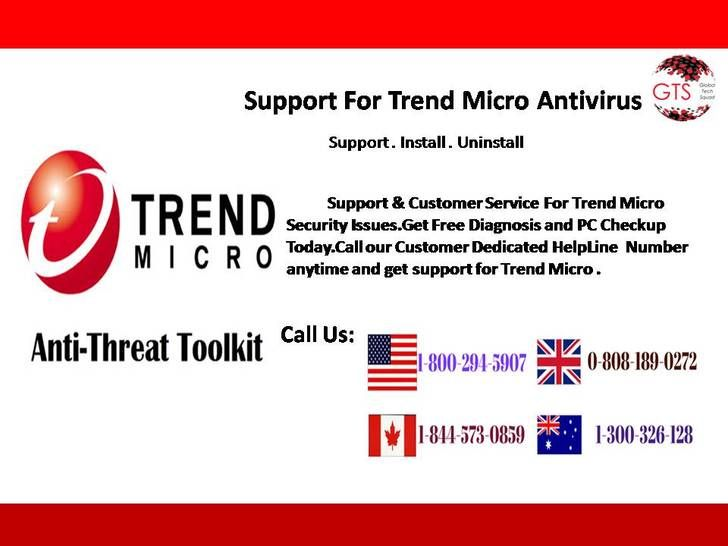 Support for Trend Micro Antiviru