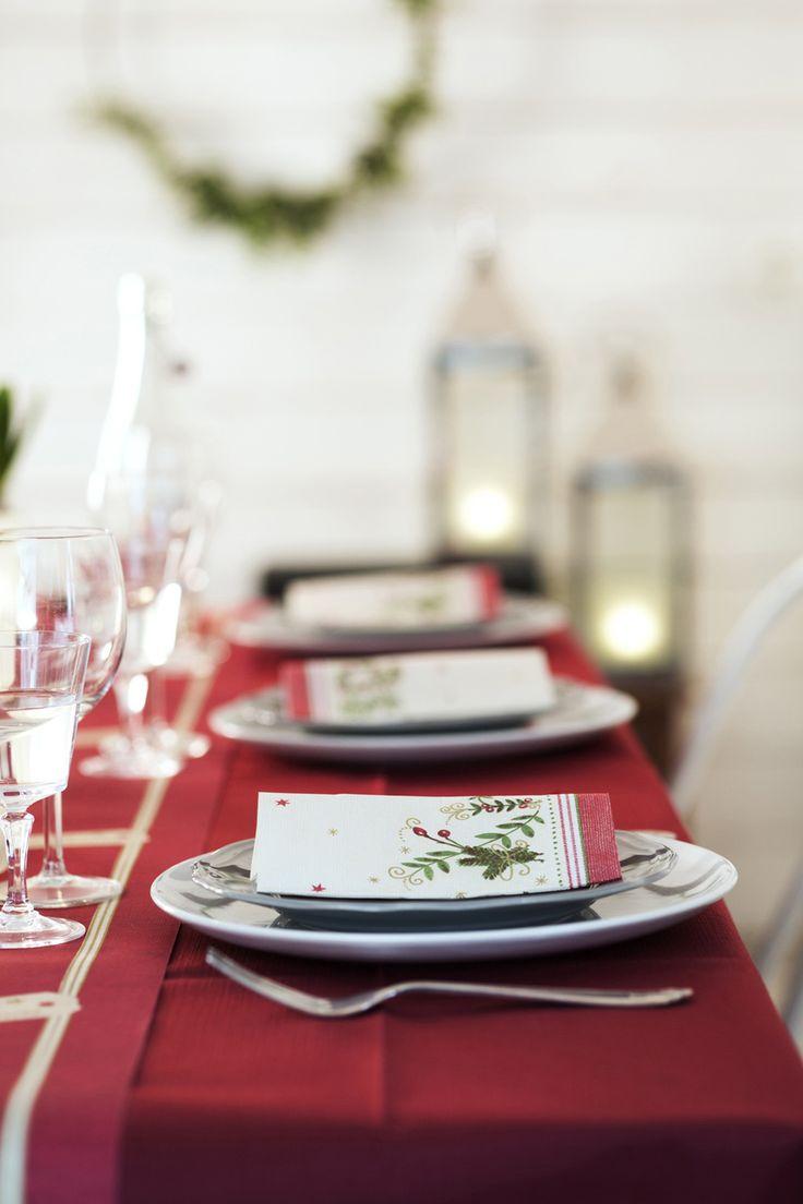 26 besten tischdekoration winter bilder auf pinterest duni weihnachtszeit und - Duni weihnachtsservietten ...