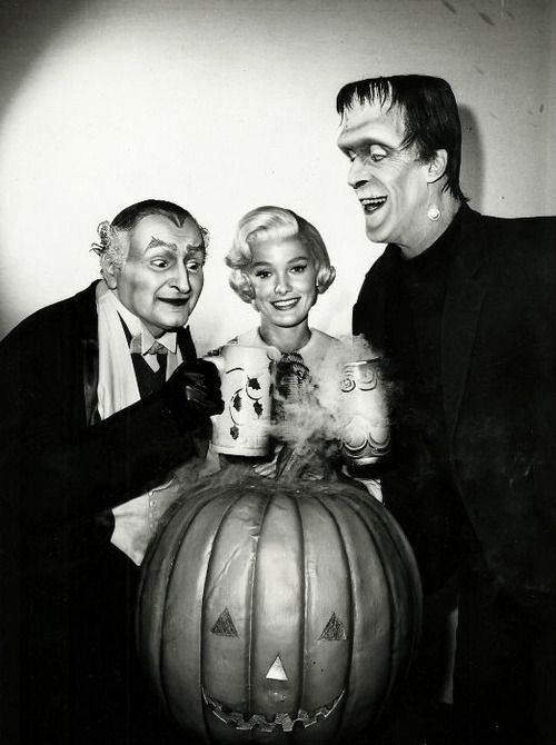 Happy Halloween from The Munsters!