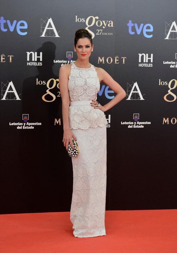 Mar Saura Wearing Stella McCartney –  Goya Cinema Awards 2013